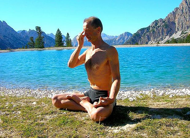 Pranayama for stress relief