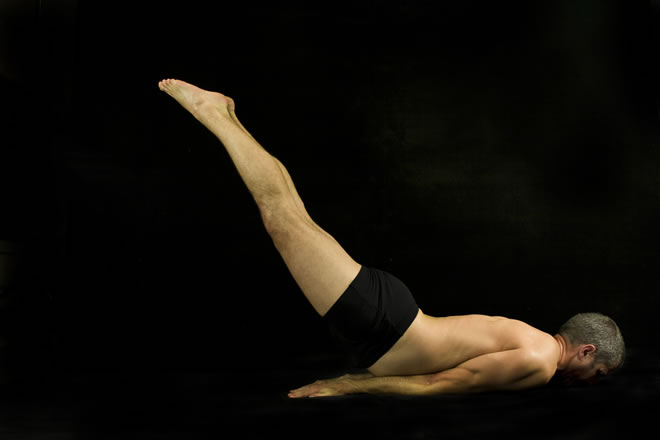 Salabhasana (Locust Yoga Pose) for Lower back pain