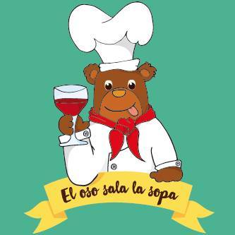 El oso sala la sopa