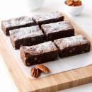 Chocolate and pecan brownie