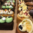 Assorted high tea cakes