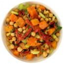 Chickpea & pumpkin salad