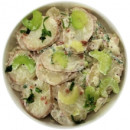 Creamy German potato salad