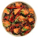 Black quinoa & sweet potato salad