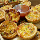 Assorted cocktail quiches