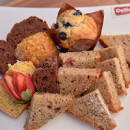 Assorted muffins & fruit breads