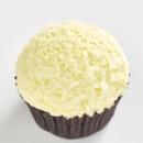 Triple white chocolate cupcake