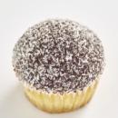 Lamington cupcake