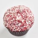 Red Velvet lamington cupcake