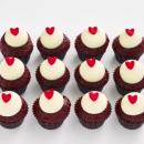 Red velvet mini cupcakes (12 pcs)