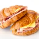 Large savoury croissants