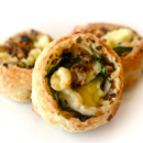 Spinach, mushroom & feta scroll (2 pcs)