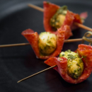 Bocconcini & salami balls