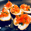 Mini Traditional Bruschetta