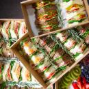 Gourmet point sandwiches