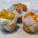 Assorted savoury muffins