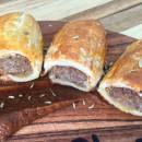 House made sausage rolls
