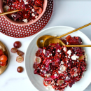 Beetroot & sorghum salad