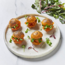 Bitesized Salmon Slider