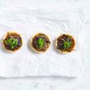 Mushroom & sage tartlet