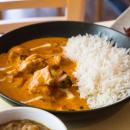 Butter chicken + rice (mild)