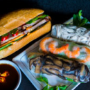 Banh mi & rice paper rolls