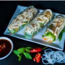 Chicken rice paper rolls (3pcs)