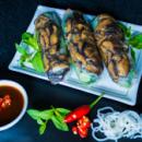 Vegetarian rice paper rolls (3pcs)