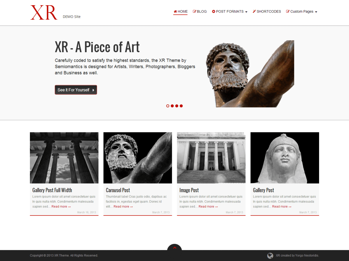XR Theme for WordPress