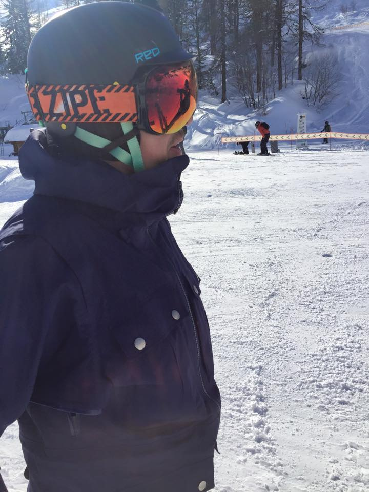Damian in Chamonix