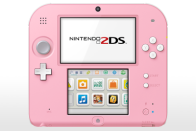 Nintendo 2DS Pink   White Releases With Kirby  Triple Deluxe On