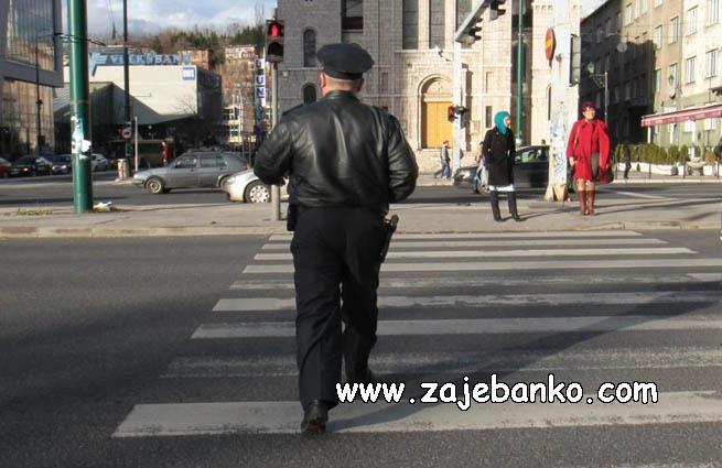 policajac krši zakon
