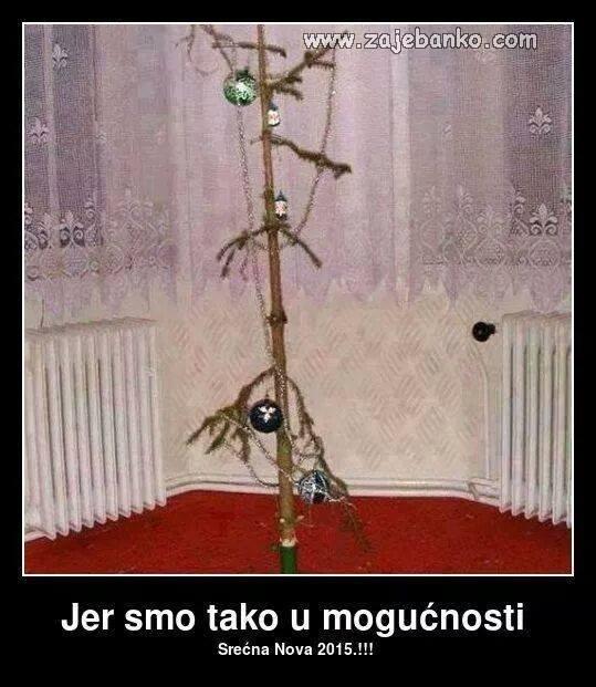 sirotinjsko božićno drvce