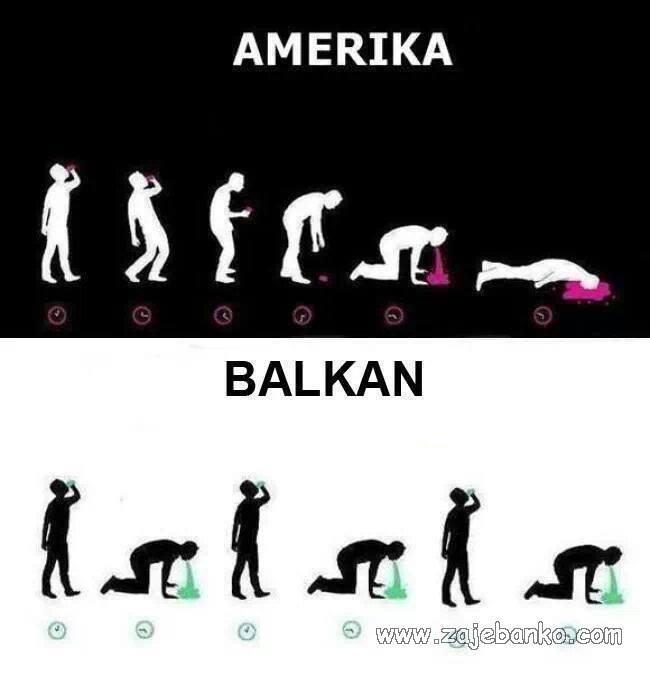 amerika i balkan