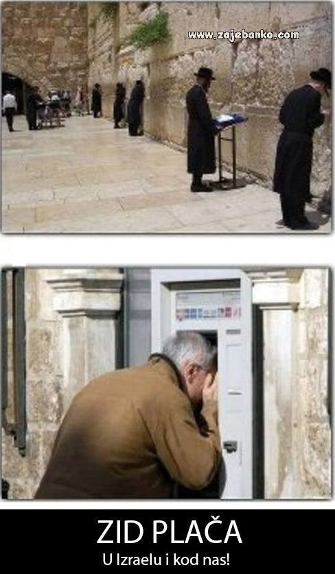 zid plača smiješna slika