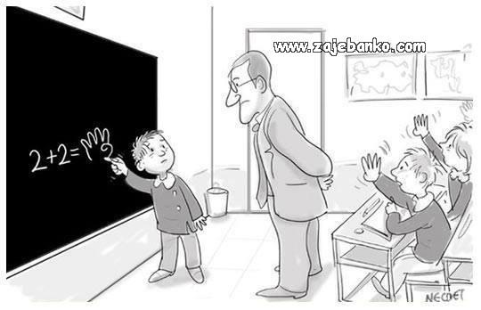 matematika smiješna slika