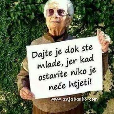 bakina poruka mladima
