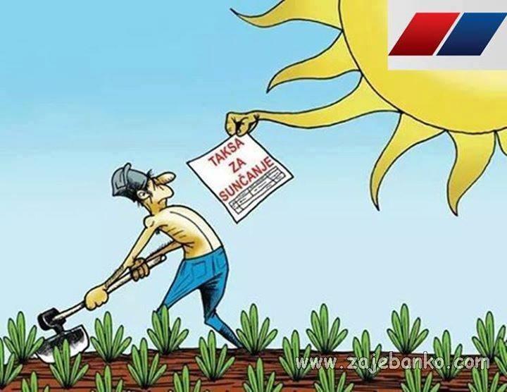 taksa za sunčanje