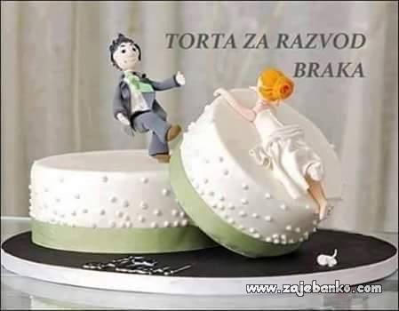 torta za razvod braka