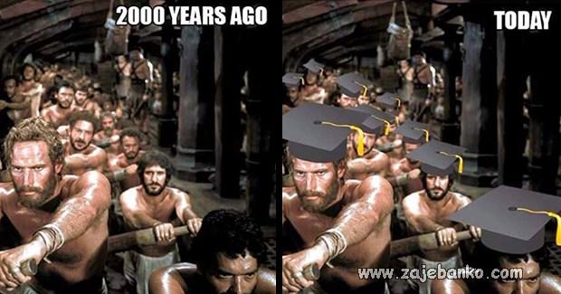 vremena se mijenjaju - navike ostaju - ništa od posla nakon diplome