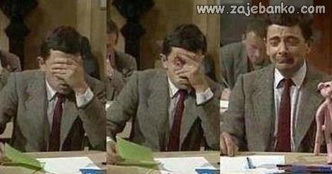 reakcija kad vidiš pitanja na ispitu