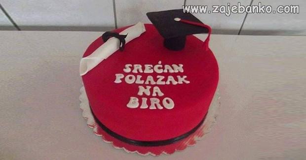 torta za diplomski