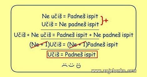 matematika učenja