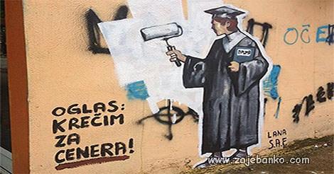 krečenje nakon diplome za cenera