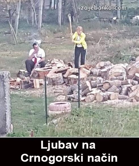 ljubav na crnogorski način