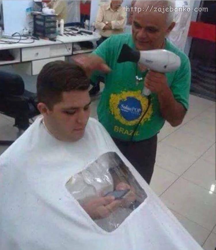 i frizeri se prilagodili novom vremenu
