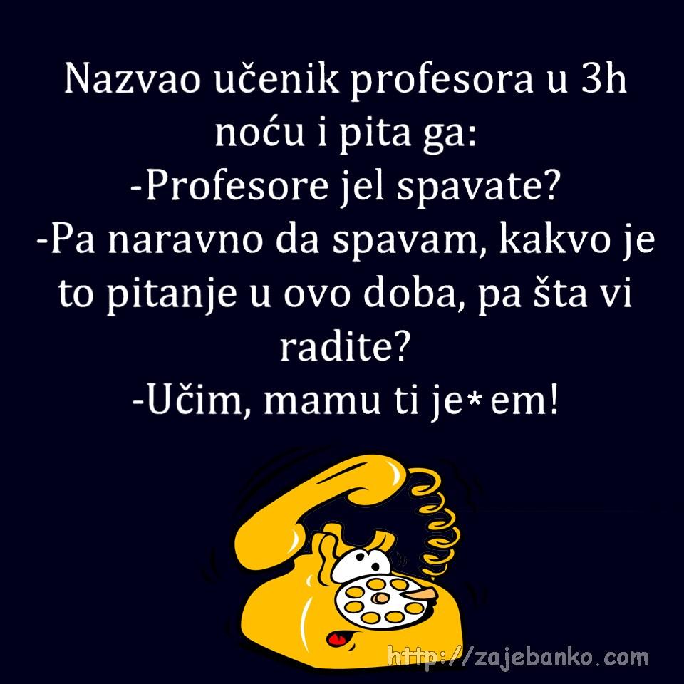 učenik i profesor