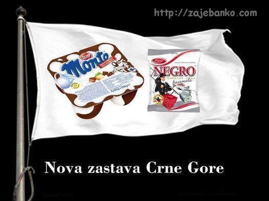službena zastava Crne Gore