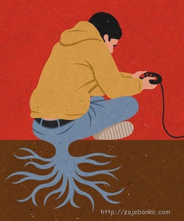 kad pustiš korijenje