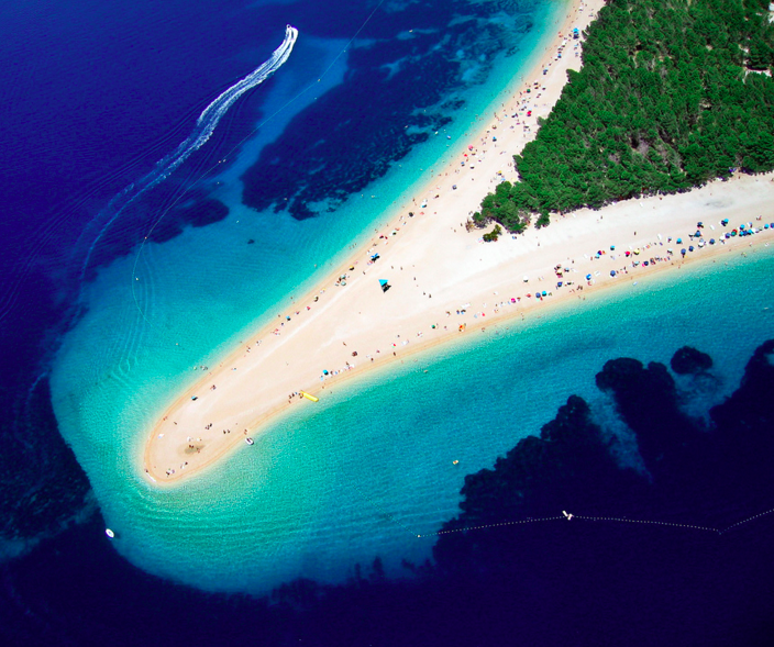 beaches in dalmatia